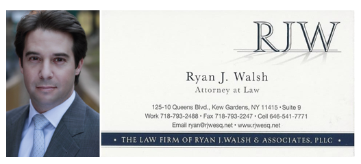 law firm of ryan j walsh